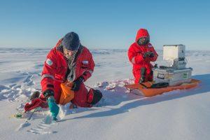 Содержание микропластика в снегах Арктики зашкаливает