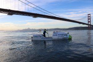 Испанец проплыл на веслах 4700 км, чтобы привлечь внимание к загрязнению океана