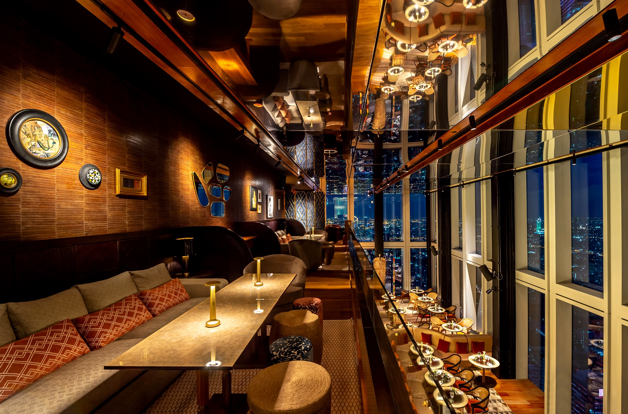 В Бангкоке открылся самый высотный ресторан Тайланда