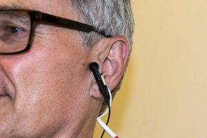 Щекотание уха тормозит старение