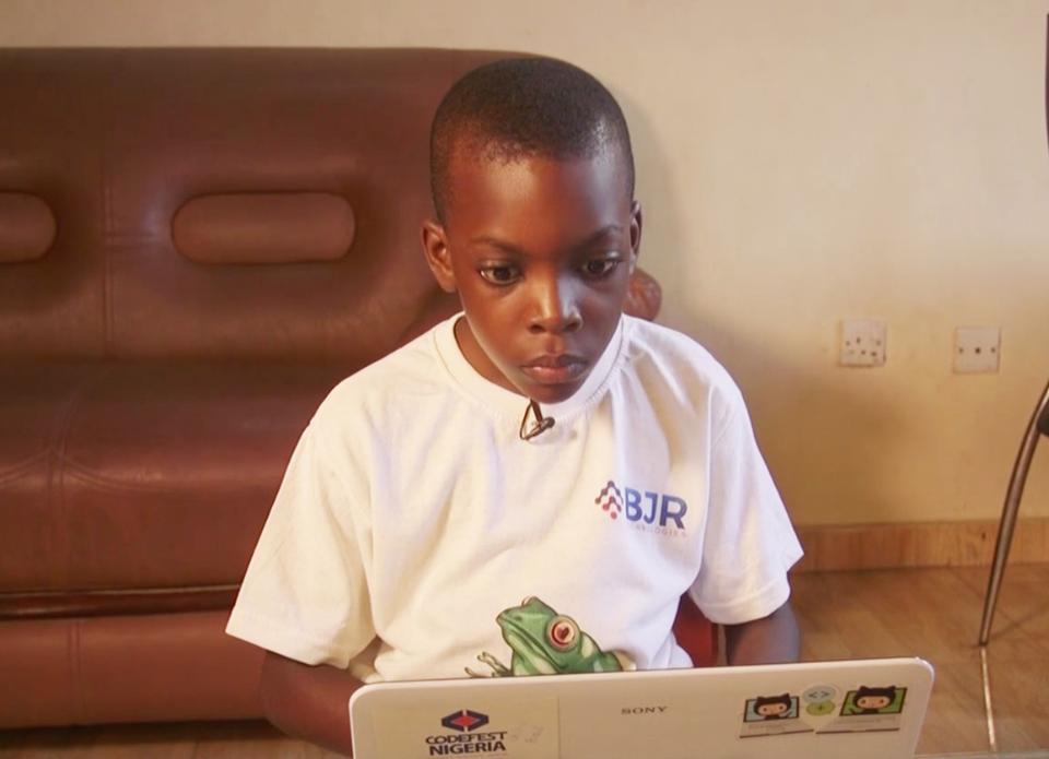 9-летний нигериец создал более 30 компьютерных игр
