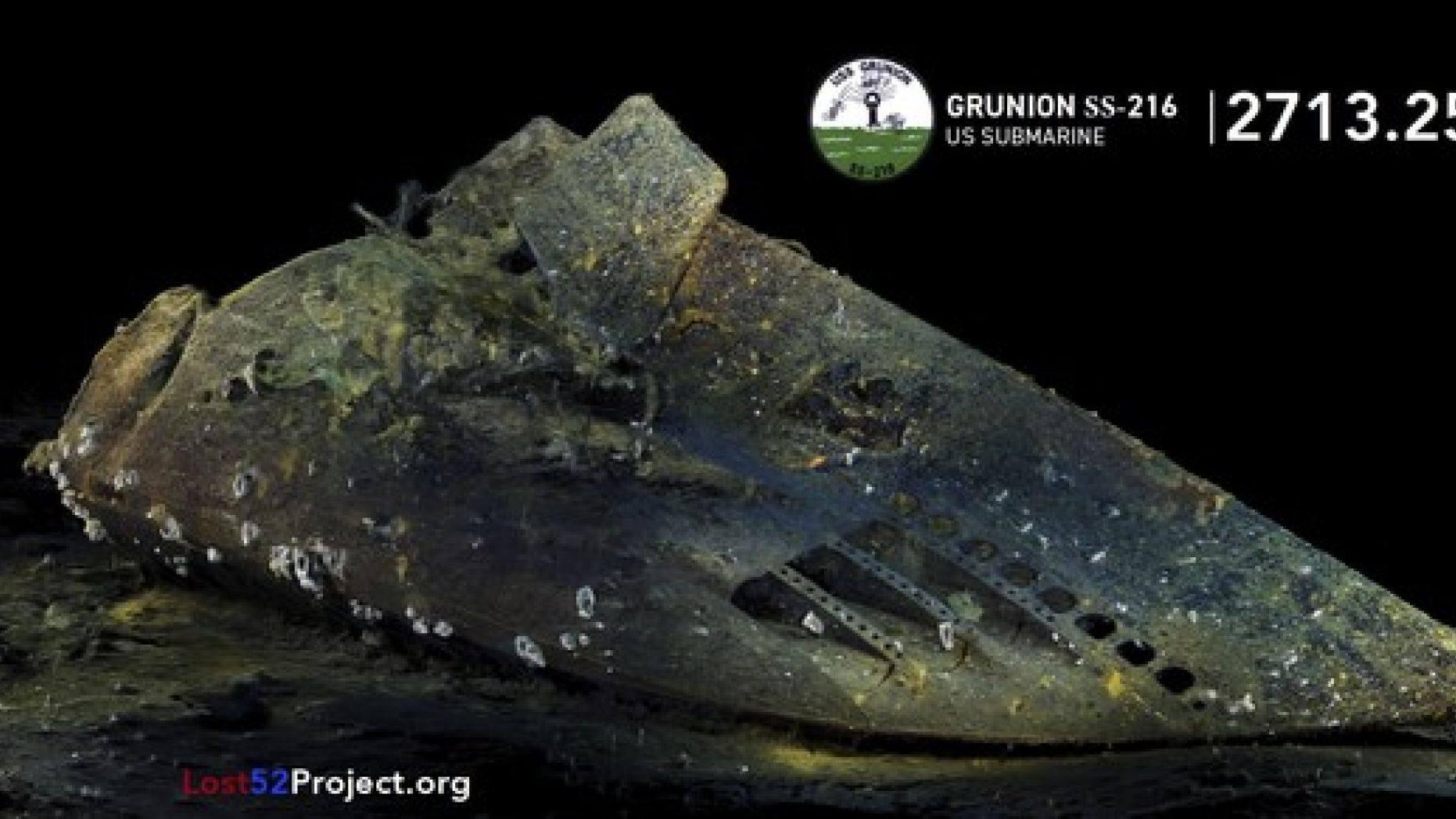 У берегов Аляски обнаружен нос субмарины, затонувшей 77 лет назад