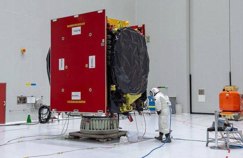 Европа запустила второй лазерный спутник сети EDRS.Вокруг Света. Украина