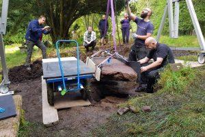 Шотландские археологи нашли 1200-летний пиктский камень