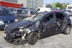 Бельгийка в жару шесть дней была заблокирована в разбитом авто