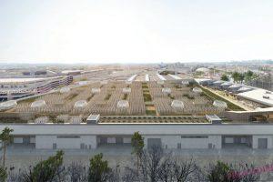В Париже появится крупнейшая в мире городская ферма на крыше