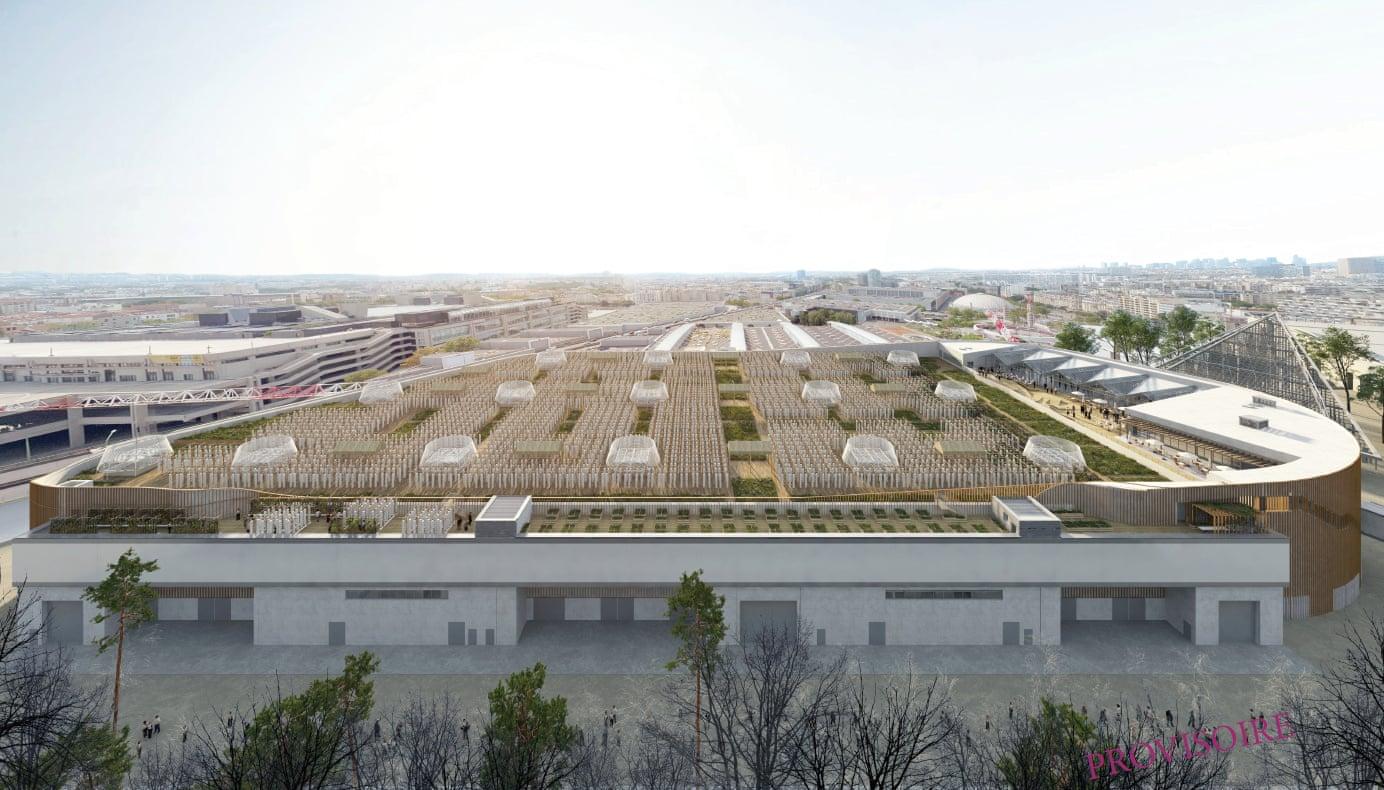 В Париже появится крупнейшая в мире городская ферма на крыше.Вокруг Света. Украина