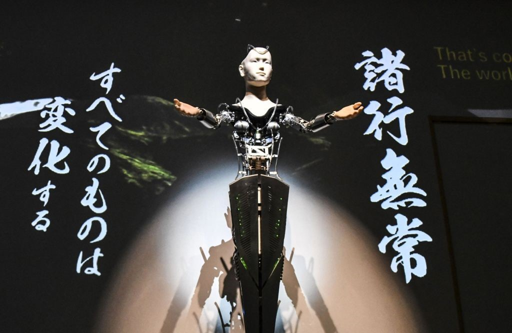 В японском храме буддийскую мудрость проповедует робот