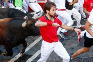 Забег с быками+маркетинг: как испанцы