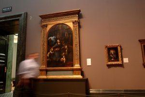 Под шедевром Леонардо да Винчи найден скрытый эскиз