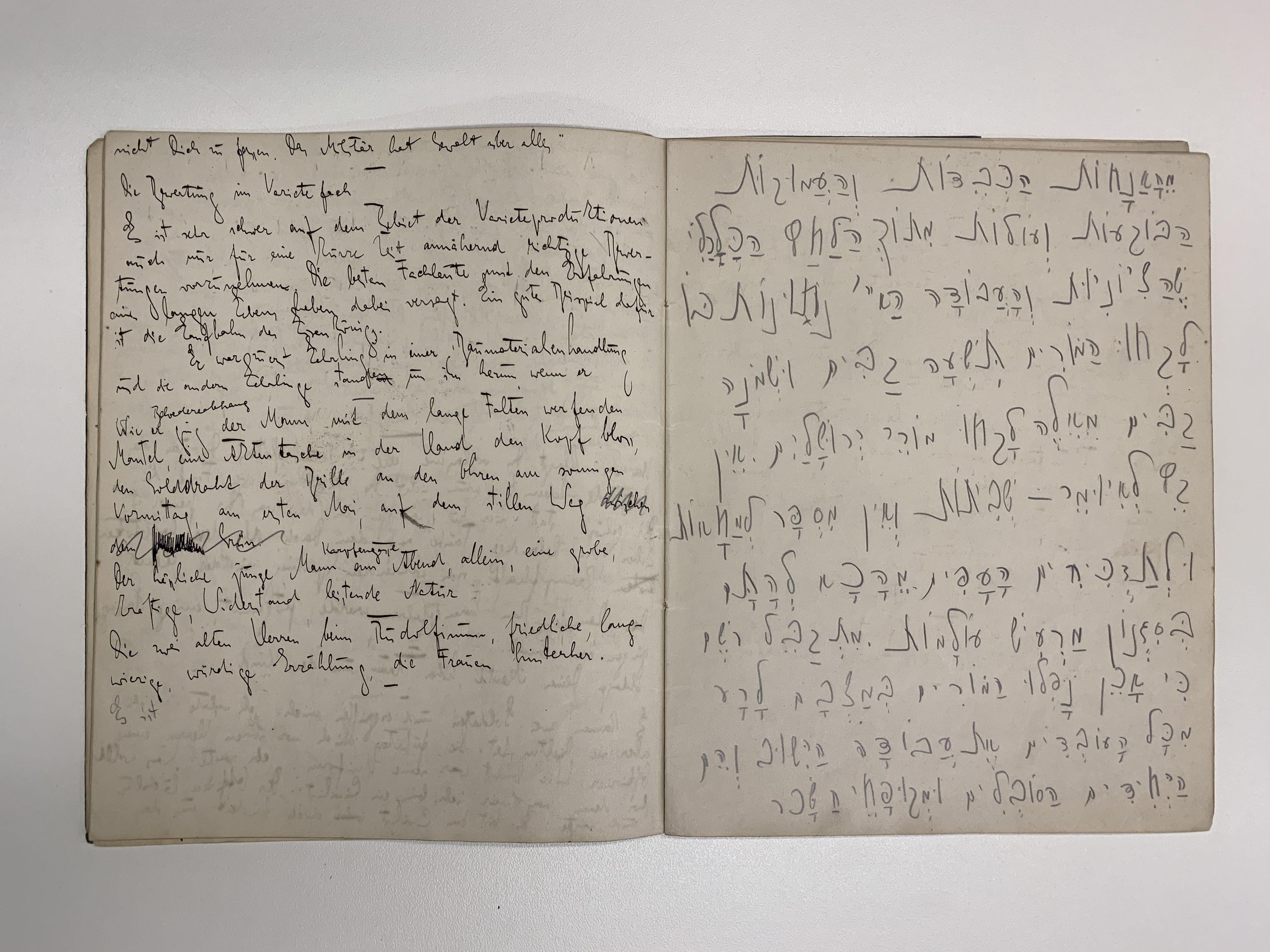 Библиотека Израиля обнародует неизвестный архив Кафки в интернете