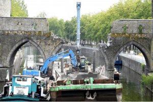 В Бельгии снесли средневековый мост – памятник ЮНЕСКО
