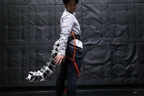 Японские ученые придумали хвост для людей