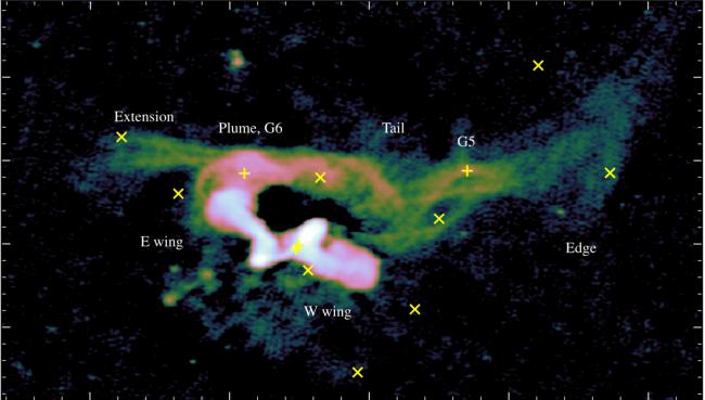 Знаменитая «X-образная» галактика на самом деле имеет другую форму