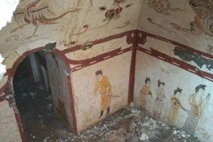В Китае раскопали древнюю гробницу времен династии Тан
