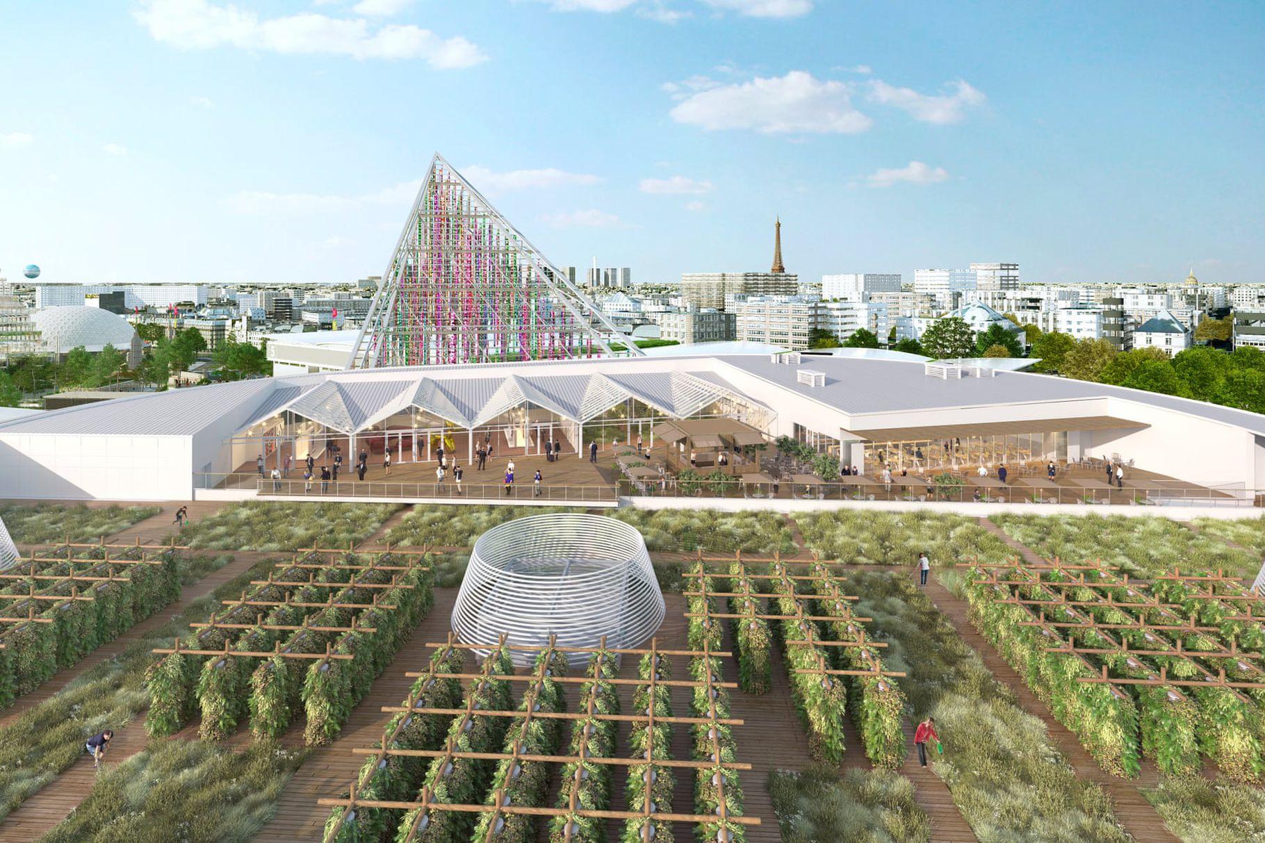 На парижской крыше откроют самый большой огород в мире.Вокруг Света. Украина