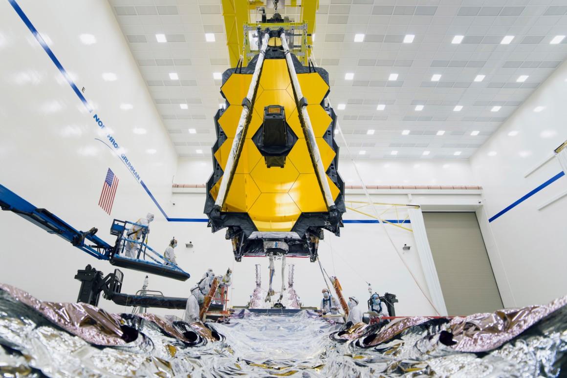 NASA завершило сборку телескопа «Джеймс Уэбб».Вокруг Света. Украина