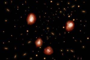 Астрономы обнаружили 39 древних галактик с помощью телескопа ALMA