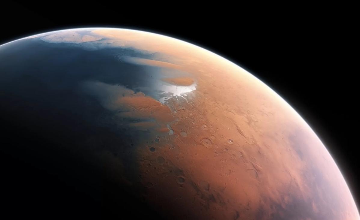 Столкновение астероида с Марсом вызвало 300-метровое цунами на планете 3,5 млрд лет назад