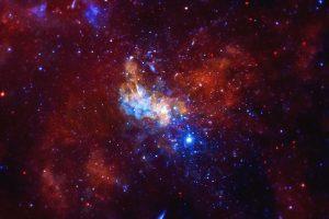 Черная дыра в центре Галактики произвела беспрецедентно яркую вспышку