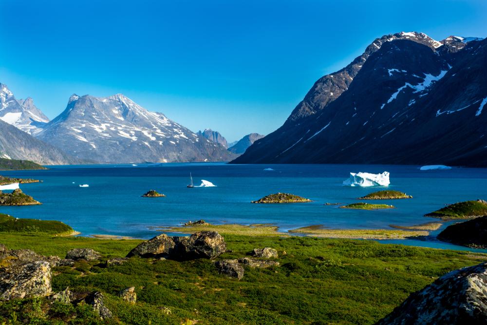 В июле Гренландия потеряла 217 миллиардов тонн льда