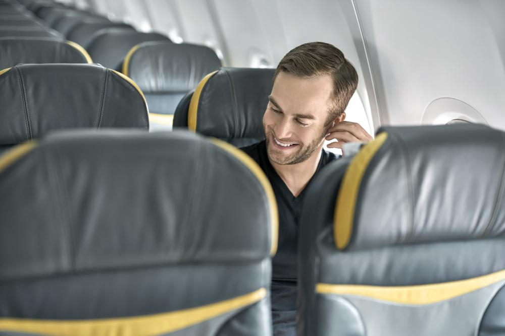 Американец оказался единственным человеком на борту самолета