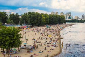 В Киеве опасно купаться на всех городских пляжах