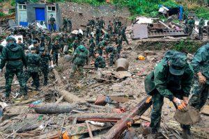Растет число жертв тайфуна, разбушевавшегося в Китае