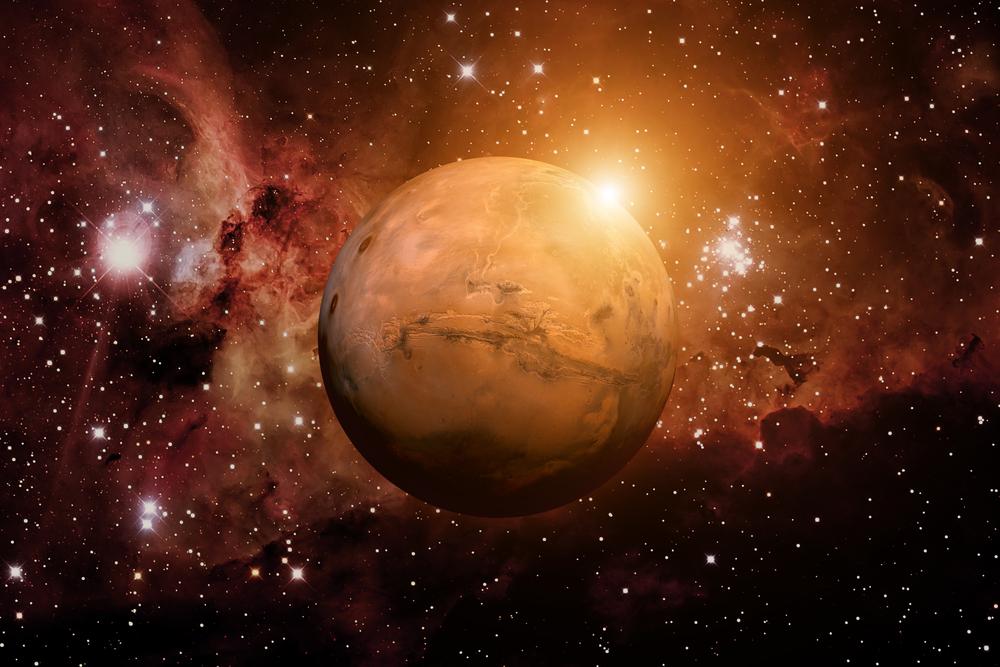 Маск предлагает согреть Марс с помощью гигантских зеркал