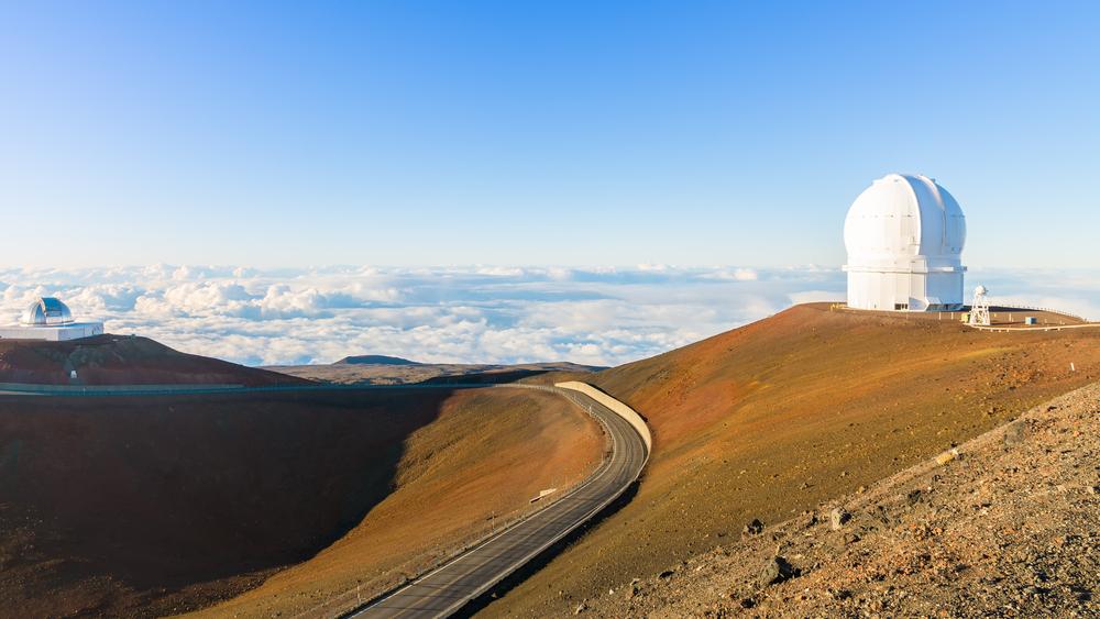 Тысячи гавайцев протестуют против строительства телескопа на священном вулкане.Вокруг Света. Украина