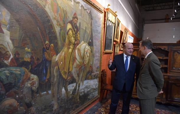 В Украину из США вернется картина, похищенная во время войны.Вокруг Света. Украина