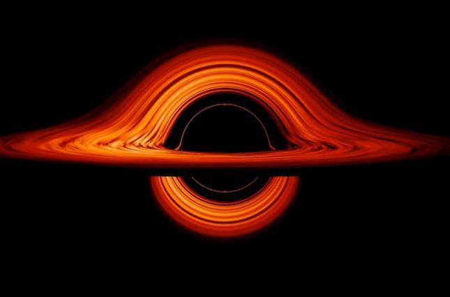 NASA показало искривленный мир черной дыры.Вокруг Света. Украина