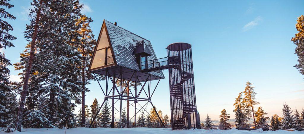 Туристы в норвежской тайге поселятся в скворечниках.Вокруг Света. Украина
