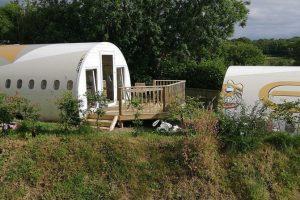 В Великобритании старый самолет стал гостиницей