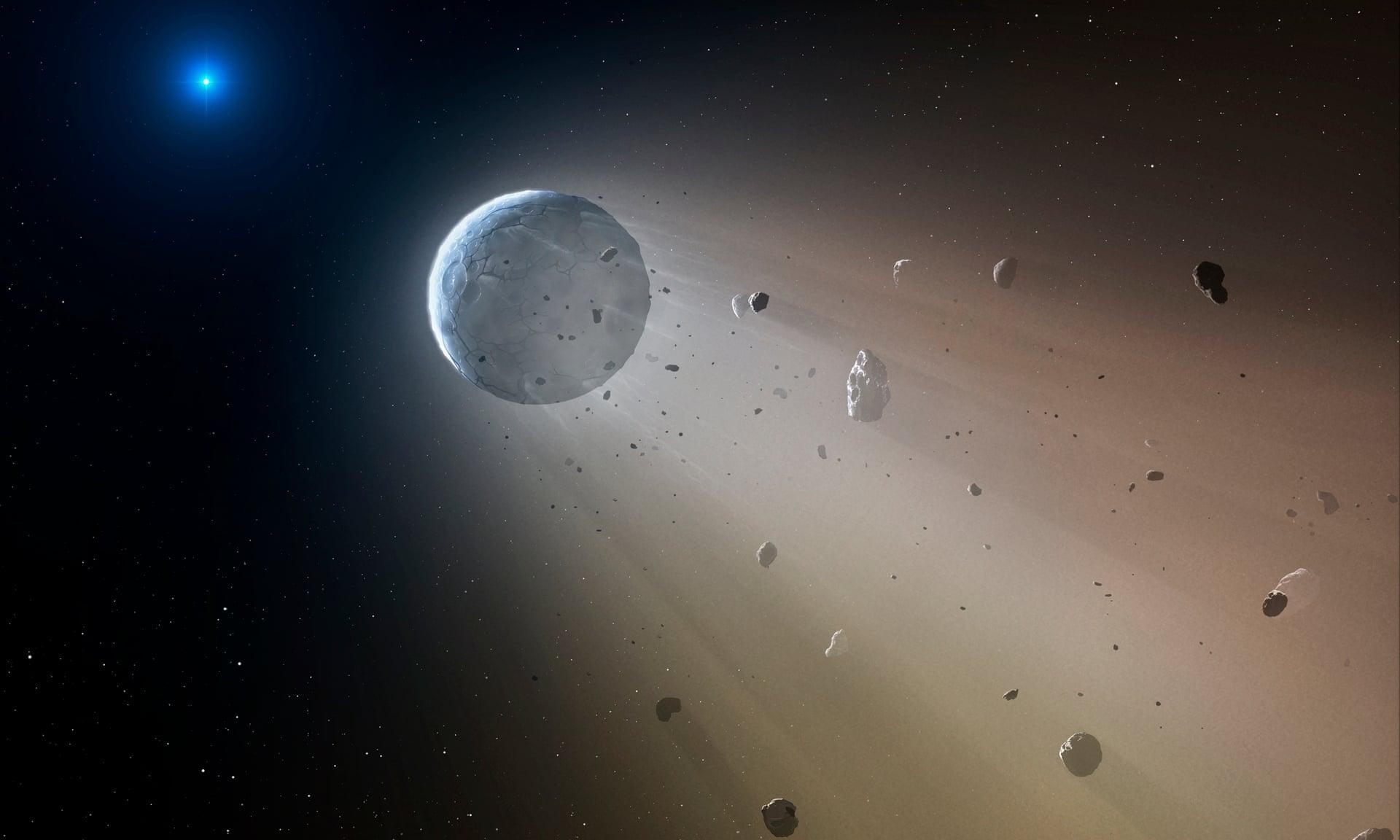 Ледниковый период был вызван разрушением гигантского астероида - ученые.Вокруг Света. Украина