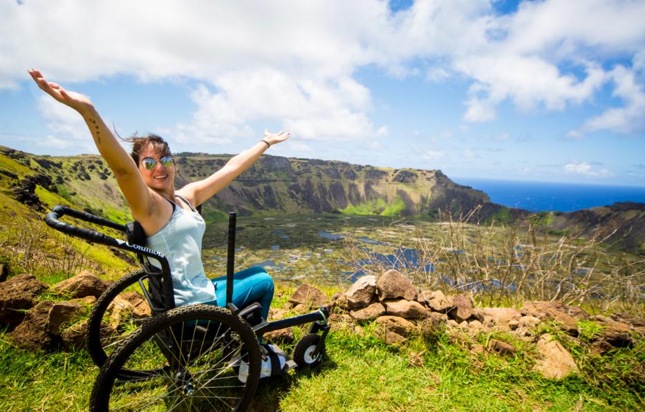 Чилийский стартап дарит инвалидам возможность увидеть мир.Вокруг Света. Украина