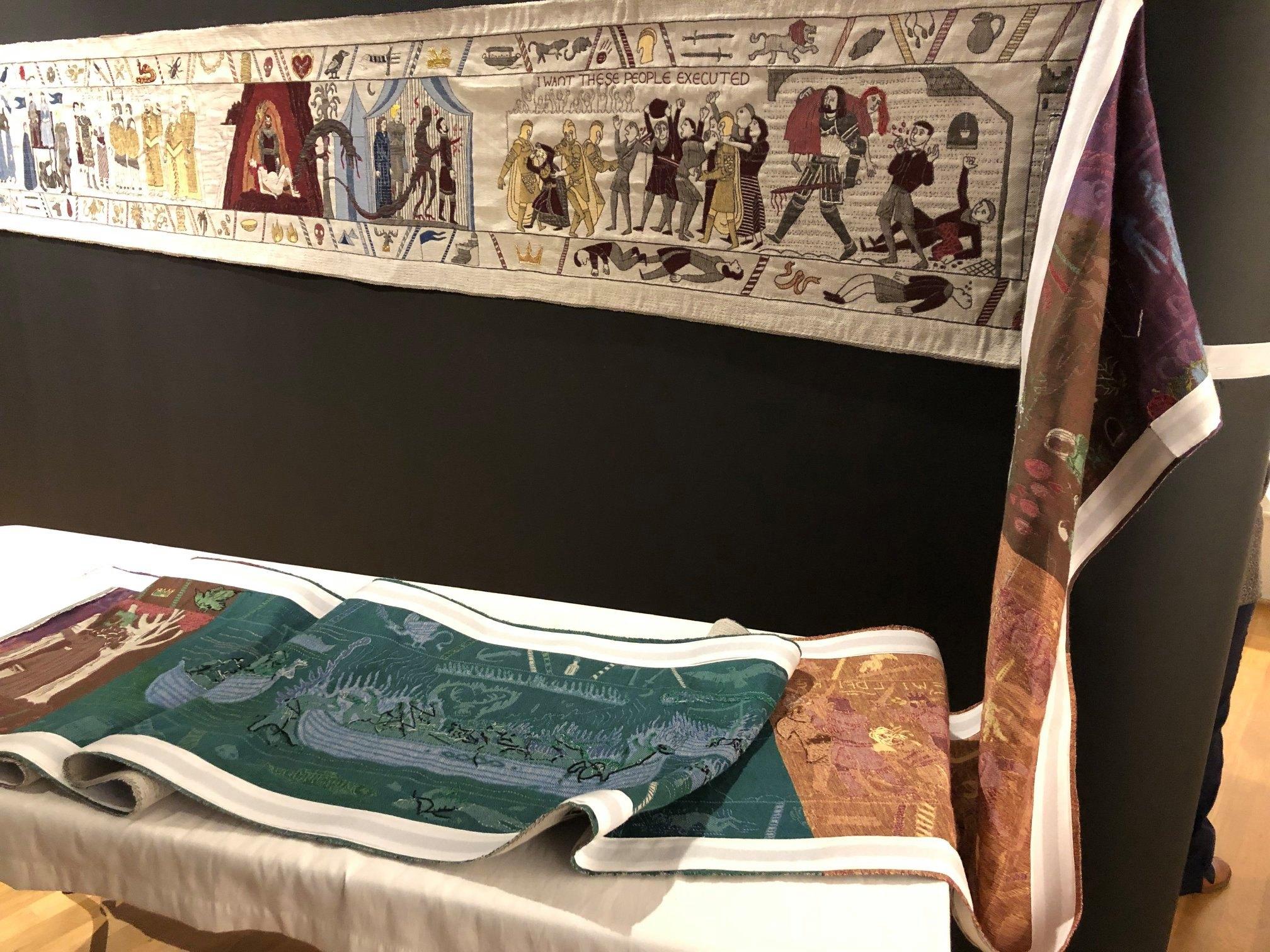 Во Франции экспонируют гобелен по мотивам «Игры престолов».Вокруг Света. Украина
