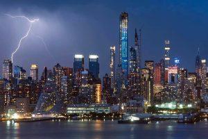Фотограф 30 лет подряд снимает горизонт Нью-Йорка