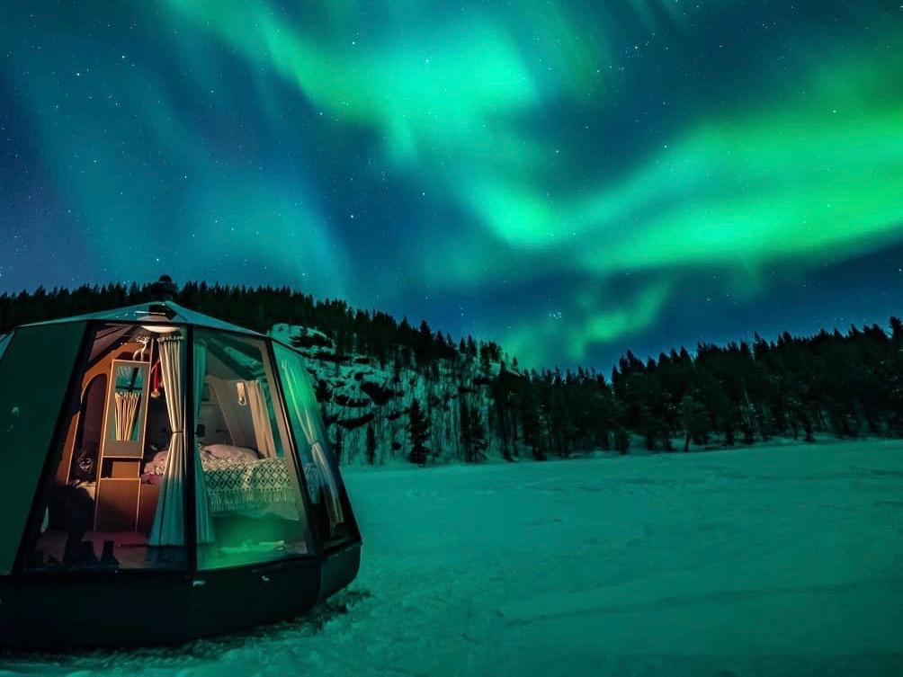 На Северном полюсе открылась гостиница