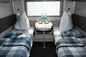 Укрзалізниця представила плацкартный вагон нового типа