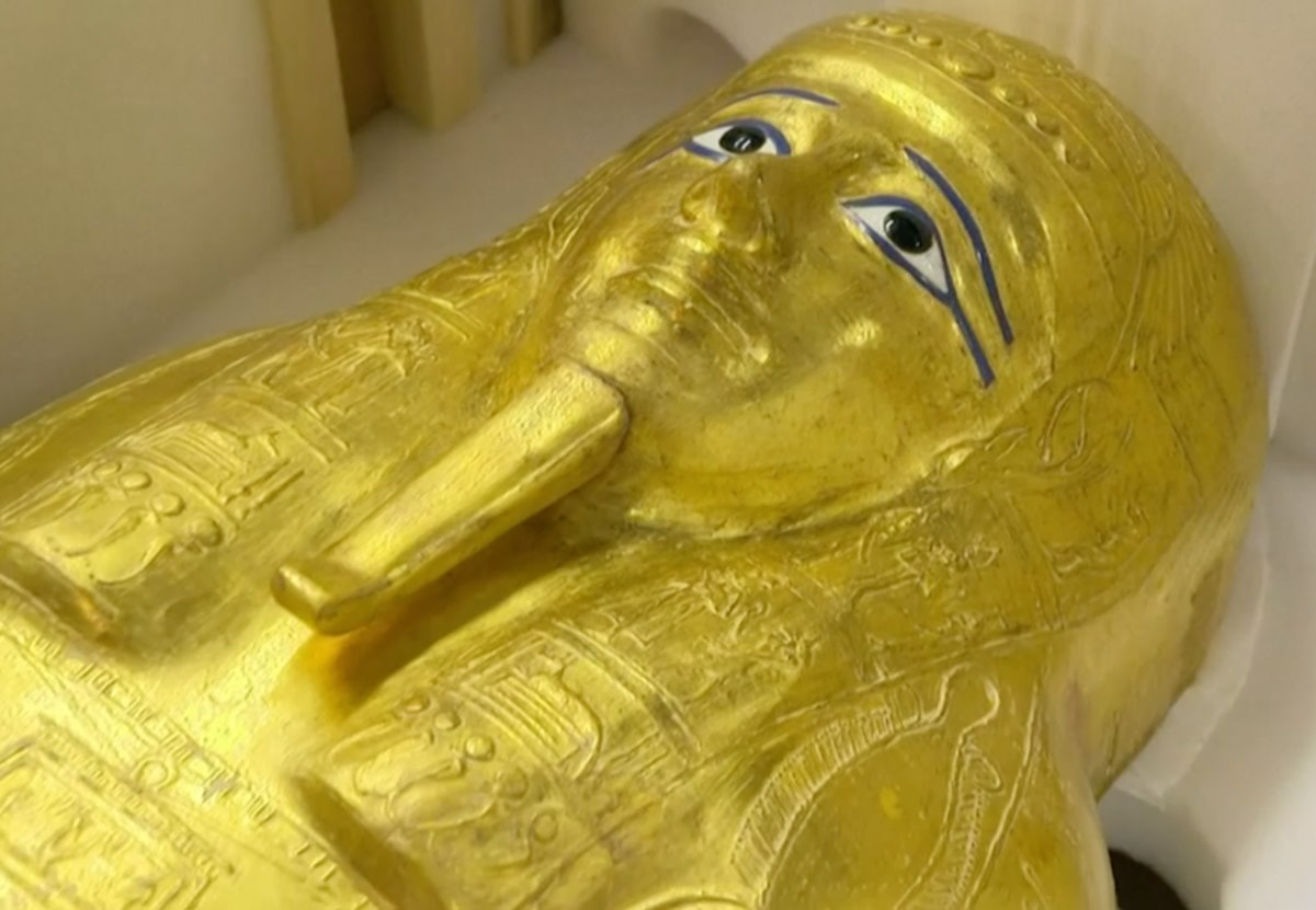Нью-Йорк вернул Каиру похищенную древнюю гробницу