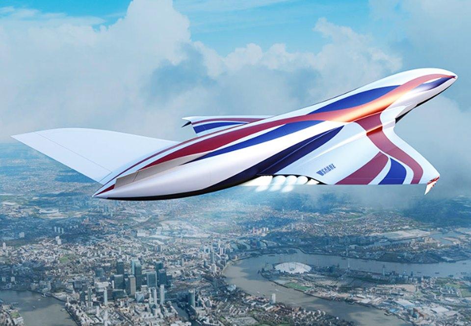 Британцы разрабатывают гиперзвуковой «космический самолет».Вокруг Света. Украина