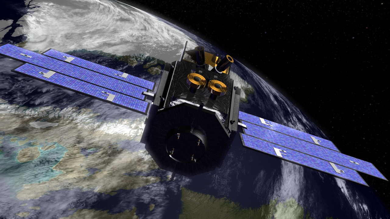Лазер NASA проникает с орбиты Земли в ее водные глубины