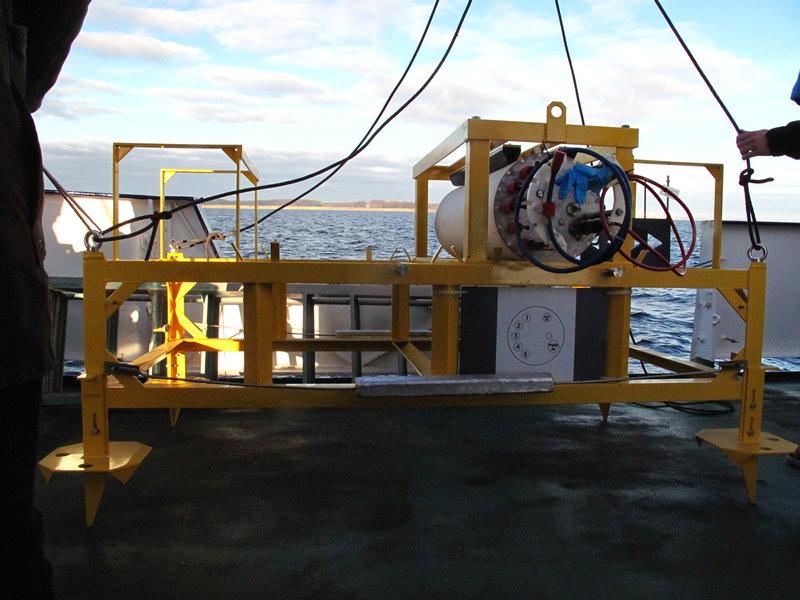 Немецкую исследовательскую станцию украли со дна Балтийского моря