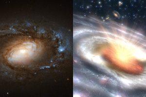 Астрономы открыли новый тип галактик