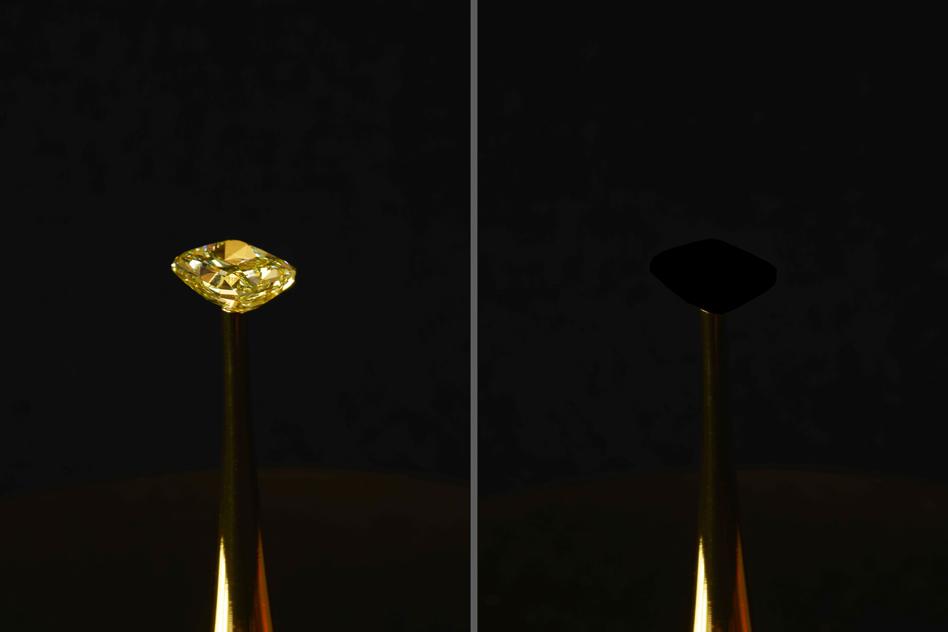 Инженеры создали «самый черный» материал на планете