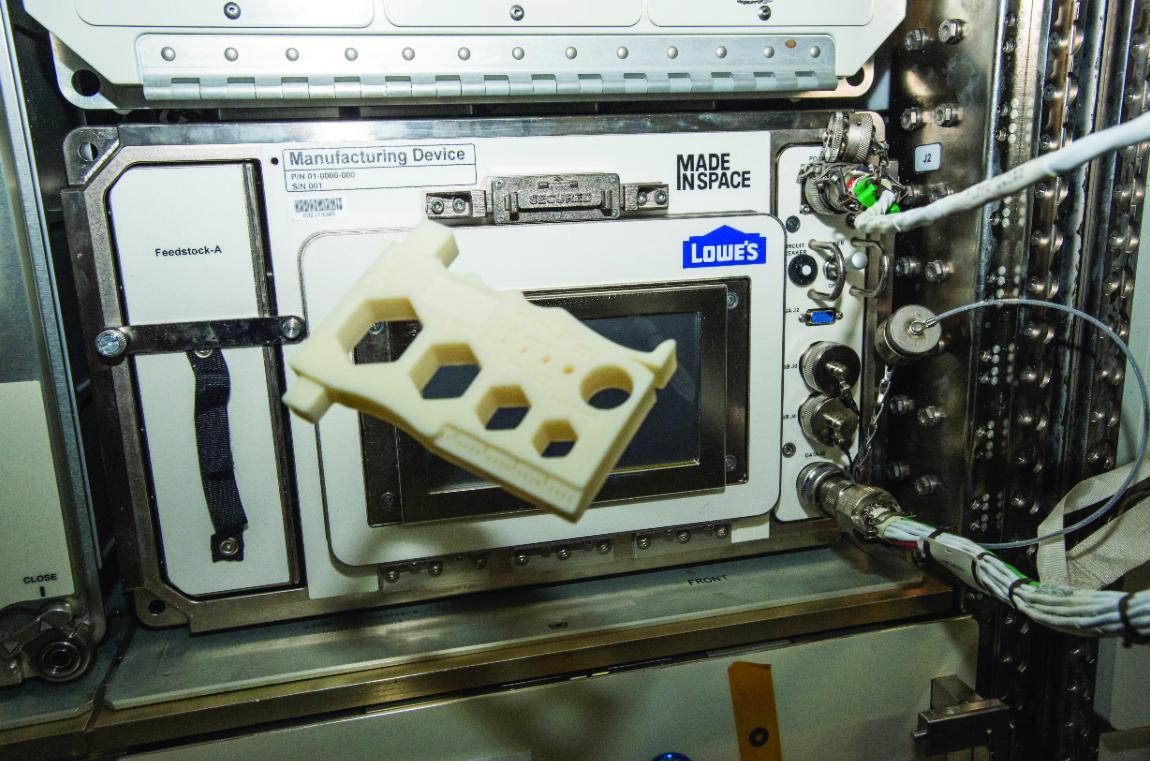 В космос запустят 3D-принтер для печати оптоволокна
