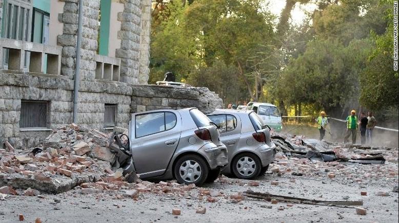 В Албании произошло мощнейшее за 30 лет землетрясение