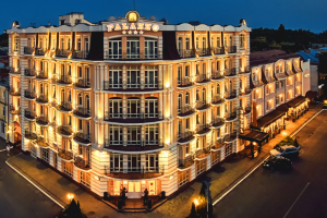 Premier Hotel Palazzo в Полтаве booking.com оценил в 9,4 из 10
