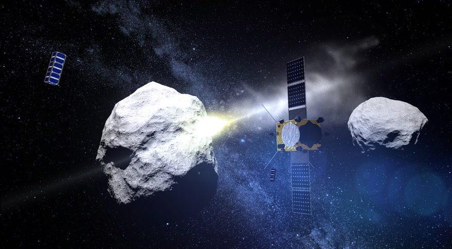 НАСА и ЕКА объединятся, чтобы обезопасить Землю от астероида.Вокруг Света. Украина
